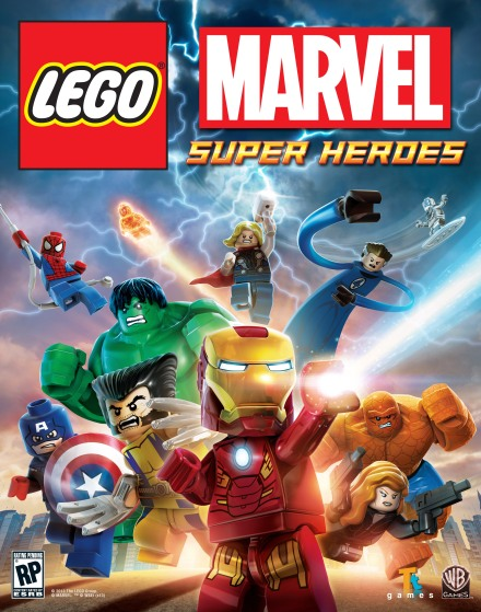 LEGO Marvel Super Heroes Key Art